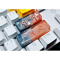Keycap shift 2.75u tone cam đen trang trí bàn phím cơ gaming. thumbnail