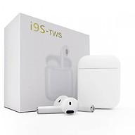Tai nghe 2 tai Bluetooth không dây i9s chính hãng cho IPhone, Android + Tặng móc dán siêu dính thumbnail