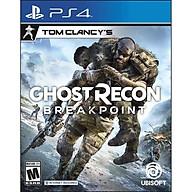 Đĩa Game PS4 Tom Clancy s Ghost Recon Breakpoint Hệ US - Hàng Nhập Khẩu thumbnail