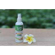 Chai xịt rửa tay khô hương quế Health Clean 100ml diệt 99.9% vi khuẩn làm sạch, mềm da thumbnail