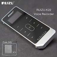 Ruizu K22 CNC Metal MP3 Player Built-in Speaker 8GB Music Player Full Touch Screen Audio Player Support HD Recording Folder Play Calendar Functions thumbnail