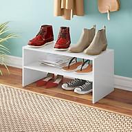 Kệ gỗ để giày hiện đại SMLIFE Rowan thumbnail
