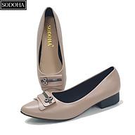 Giày lười nữ , giày búp bê nữ SODOHA đính mác - SDH2216 thumbnail