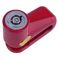 Ổ khóa phanh đĩa chống trộm cho xe máy, xe đạp thể thao (Giao màu ngẫu nhiên) thumbnail