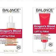Bộ serum dưỡng da và kem dưỡng vùng mắt Balance Dragon Blood thumbnail