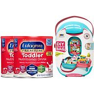 Combo 2 Lon Sữa Bột Enfagrow Premium Toddler 680g - Tặng Bộ Đồ Chơi Siêu Thị thumbnail