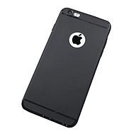 Ốp lưng silicon màu đen dành cho iphone 6 6s plus thumbnail