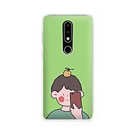 Ốp lưng dẻo cho điện thoại Nokia 6.1 plus X6 - 01171 7898 BOY01 - in hình chibi dễ thương - Hàng Chính Hãng thumbnail