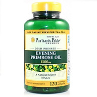 Thực phẩm chức năng bảo vệ sức khỏe Dầu hoa anh thảo Evening Primrose Oil 1300mg with GLA (120 viên) thumbnail
