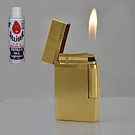 Combo Hộp Quẹt Bật Lửa Mạ Vàng DP-22 + Tặng Bình Gas Chuyên Dụng Cho Bật Lửa thumbnail