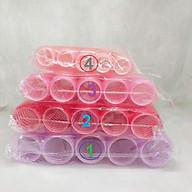 Bộ 10 lô cuốn dính - Lô uốn không dùng nhiệt ( Size 1,2,3,4,5) thumbnail