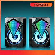 Loa máy tính Game thủ LDK.ai RGB 2.1 LeeFei - Hàng chính hãng thumbnail