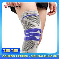 Băng bảo vệ đầu gối, bó gối thể thao silicon chống trượt GoodFit GF513K thumbnail