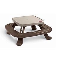 Bộ bàn ghế dã ngoại V120cm (không có dù) Fold n Store Picnic Table thumbnail