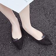 Giày Búp Bê Nữ Tiểu Thư Mũi Nhọn Cá Tính Đi Nhẹ, Êm Chân Mẫu Mới Hót Năm 2021 MBS503 - Mery Shoes thumbnail