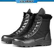Giày Cao Cổ Nam U559 Kiểu Dáng Giày Chiến Thuật Boot Nam Chuyên Phượt, Giày Swat Lính -HÀNG CHÍNH HÃNG thumbnail