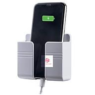 Kệ Dán Tường Để Remote, Giá Đỡ Sạc Điện Thoại Size Lớn 9x10.5cm [QJ001] thumbnail