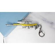 Móc khóa mô hình trong Game PUBG Mẫu MK-S-DSR - Màu Vàng thumbnail
