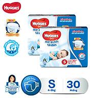 Combo 2 tã dán sơ sinh Huggies Diapers New Born S30 thumbnail