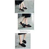 Giày Búp Bê Thắt Nơ Ngang Đế 5cm Da Lộn Mery Shoes - MBS481 thumbnail
