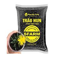Giá Thể Trấu Hun Nguyên Cánh Sfarm Túi 5dm3 thumbnail