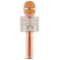 Mic Hát Karaoke Kèm Loa Bluetooth WS-858 Đa Năng (Giao Màu Ngẫu Nhiên) thumbnail