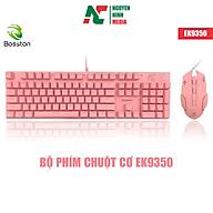 Bộ Phím Chuột Cơ Bosston EK9350 Màu Hồng (Pink) - Hàng Chính Hãng thumbnail
