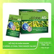Thực phẩm chức năng - Viên uỗng FobeAD, hỗ trợ giảm nhanh trào ngược, ợ chua, ợ hơi, giúp cải thiện viêm loét dạ dày, tá tràng - Hộp 20 gói thumbnail