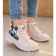 Giày bốt cao cổ cho bé gái BTL30 thumbnail