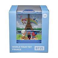 Đồ Chơi Vali lưu diễn BT21 tại tháp Eiffel- Pháp BT21 219015 thumbnail