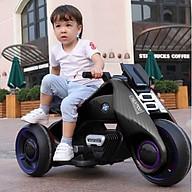 Xe máy điện moto BDQ-6188 3 bánh size lớn 2 động cơ 6V7AH (Đỏ-Đen-Cam-Trắng) thumbnail