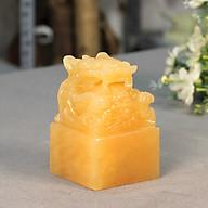 Ấn Rồng Phong Thủy Ngọc Hoàng Long Roxi - 10cm - MS001 thumbnail