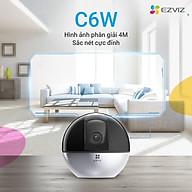 Camera IP - Camera Wifi EZVIZ C6W 4Mp ( Độ phân giải 2K ) - Đàm Thoại 2 Chiều - Theo Chuyển Động Thông Minh - Hàng chính hãng thumbnail
