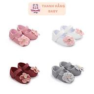 Giày Tập Đi Cho Bé Gái, Dép Tập Đi Cho Bé Thanh Hăng Baby Từ 11 - 13 Cm thumbnail
