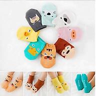 Set 5 đôi tất hoạt hình cho bé T02 size M thumbnail
