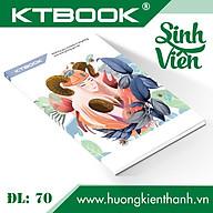 Gói 5 cuốn Tập sinh viên khổ lớn cao cấp Giá Rẻ KTBOOK giấy trắng tốt ĐL 60 gsm - 200 trang thumbnail