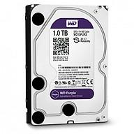 Ổ cứng camera HDD WD Purple 1TB - Hàng Chính Hãng thumbnail