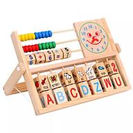 Đồ Chơi Gỗ Thông Minh,Kệ Học Chữ Cái Tiếng Anh Và Phép Tính Theo Phương Pháp Montessori thumbnail