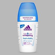 Lăn Khử Mùi Nữ Ngăn Mồ Hôi Adidas Fresh White 40ml thumbnail