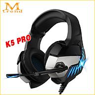 Tai nghe chụp tai headphone gaming chơi game dành cho các game thủ Phiên bản K5 Pro mã A10 thumbnail