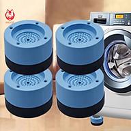 Set 4 miếng đệm chống rung, chống ồn hiệu quả cho máy giặt, tủ lạnh thumbnail