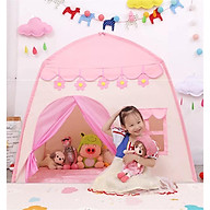 Lều công chúa lều hoàng tử cỡ đại cao cấp cho bé thumbnail