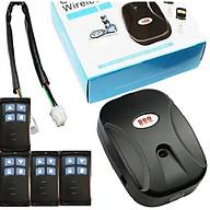 Bộ điều khiển motor cửa cuốn và 4 tay khiển tần số 433Mhz thumbnail