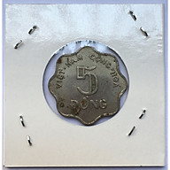 Đồng Xu Cổ Xưa Việt Nam 5 Đồng 1971 Hình Bông Lúa [Xu Cổ Xưa Sưu Tầm] thumbnail