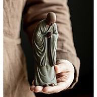 Tượng gốm Tăng nhân Nhà sư bái phật- Tượng Tu sĩ thành tâm hướng phật NHỰA COMPOSITE thumbnail