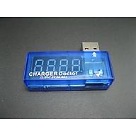 Thiết bị đo điện áp dòng sạc điện thoại giúp theo dõi dòng điện, làm tăng tuổi thọ ( Tặng kèm 03 nút kẹp cao su đa năng giữ dây điện cố định ngẫu nhiên ) thumbnail