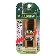 Lược Chải Tóc Bằng Lông Heo Tẩm Tinh Dầu Ikemoto Olive Squalane OS-700 thumbnail