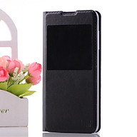 UMI C1 PU Mobile Phone Leather Ultra Slim Case Cover Single View Window Protective Shell with Stand Black thumbnail