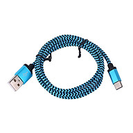 Cáp Dữ Liệu Sạc Nhanh Dây Nylon Cổng USB Type C 3.1 Sang A - Cam (1M) thumbnail