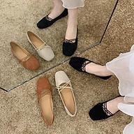 Giày Búp Bê Nữ Dây Thun Chéo Siêu Nhẹ Mẫu Hot MBS252 - Mery Shoes thumbnail